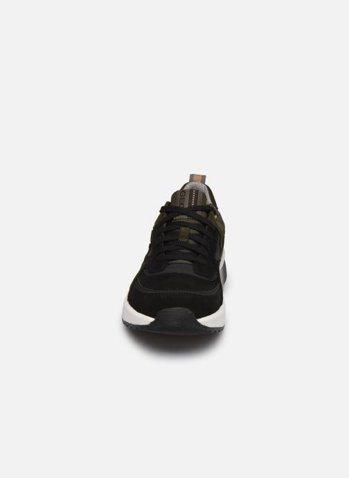 Sneaker Geox U NAVIGLIO B ABX schwarz schuhe getragen