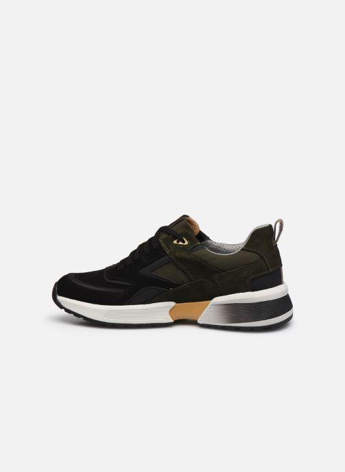 Sneaker Geox U NAVIGLIO B ABX schwarz ansicht von vorne