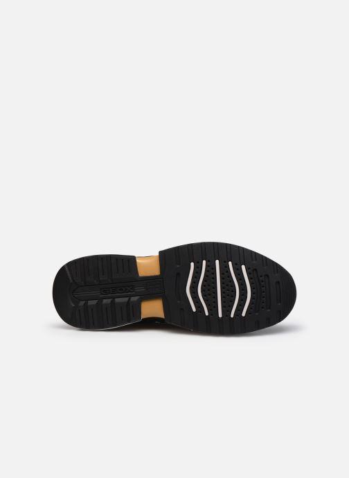 Sneaker Geox U NAVIGLIO B ABX schwarz ansicht von oben