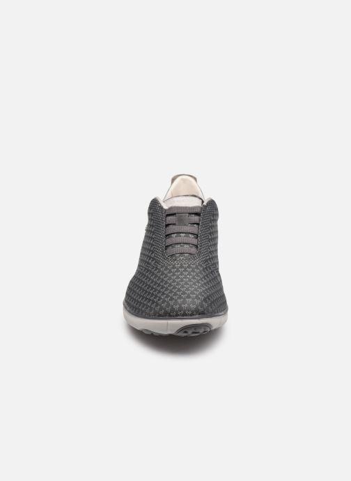 Sneaker Geox U NEBULA SUSTAINABILITY grau schuhe getragen