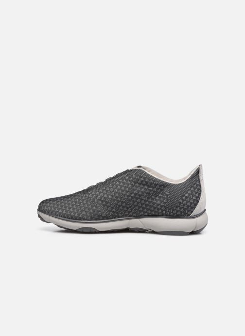 Sneaker Geox U NEBULA SUSTAINABILITY grau ansicht von vorne