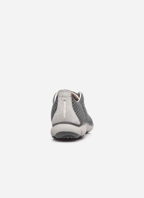 Sneaker Geox U NEBULA SUSTAINABILITY grau ansicht von rechts