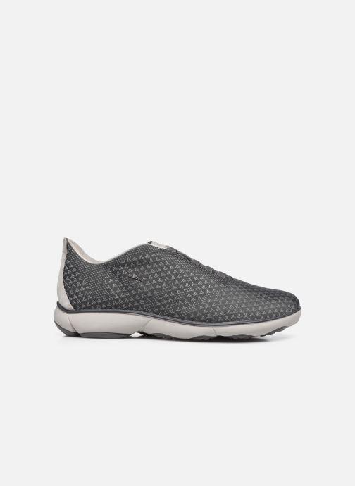 Sneaker Geox U NEBULA SUSTAINABILITY grau ansicht von hinten