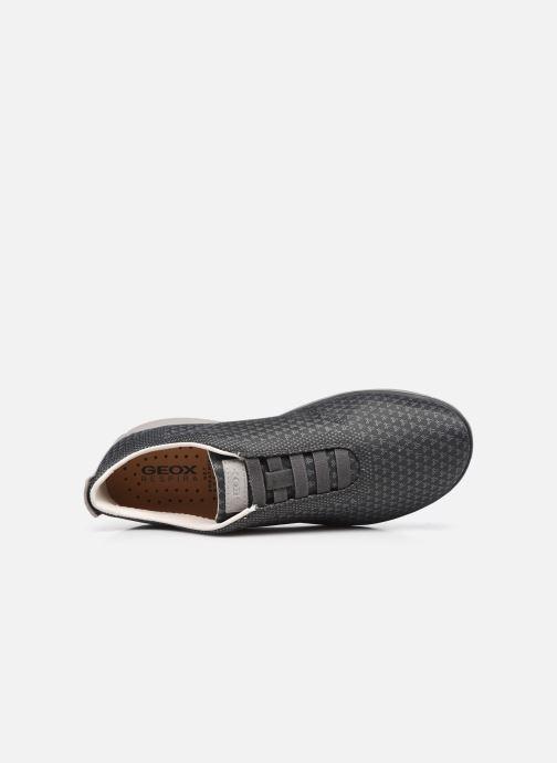 Sneaker Geox U NEBULA SUSTAINABILITY grau ansicht von links