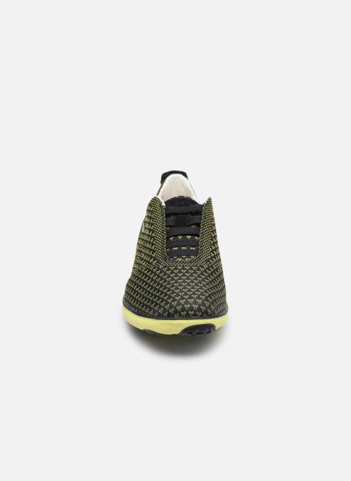Baskets Geox U NEBULA SUSTAINABILITY Noir vue portées chaussures
