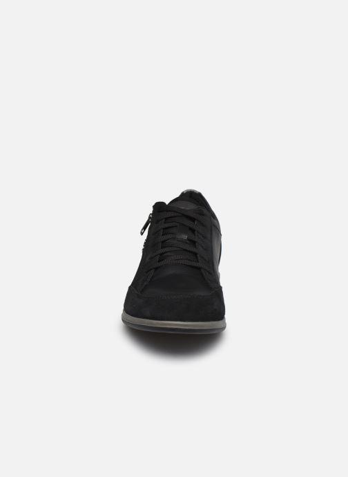 Sneaker Geox U RENAN U044GA schwarz schuhe getragen