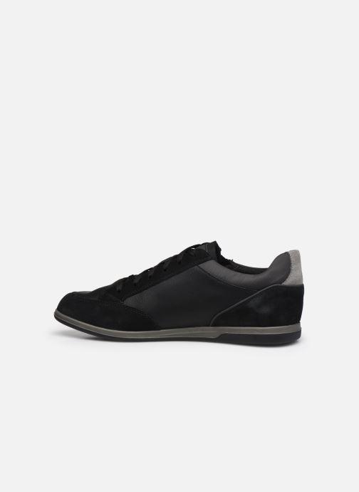 Sneaker Geox U RENAN U044GA schwarz ansicht von vorne