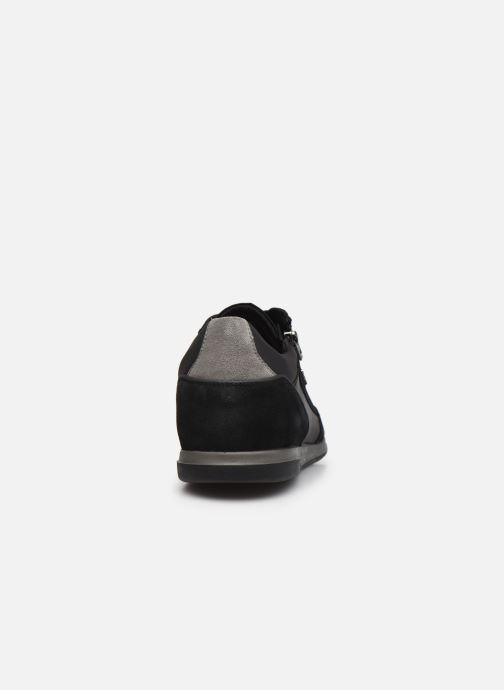Sneaker Geox U RENAN U044GA schwarz ansicht von rechts
