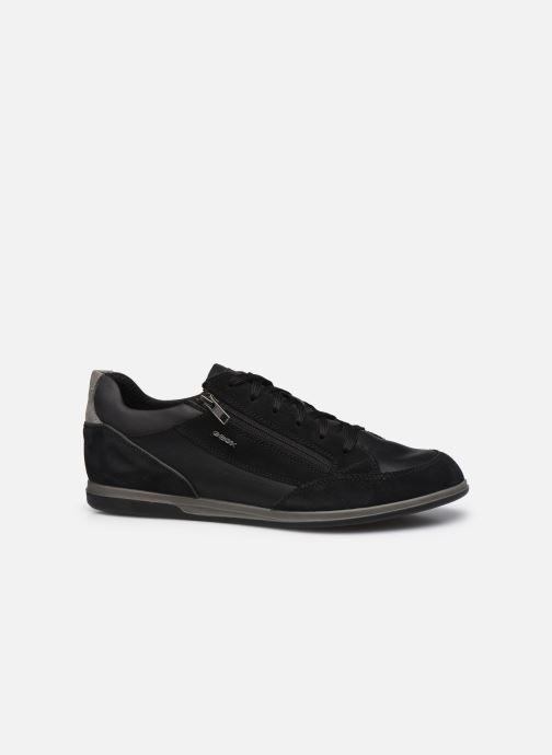Sneaker Geox U RENAN U044GA schwarz ansicht von hinten