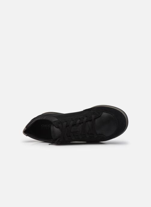 Sneaker Geox U RENAN U044GA schwarz ansicht von links