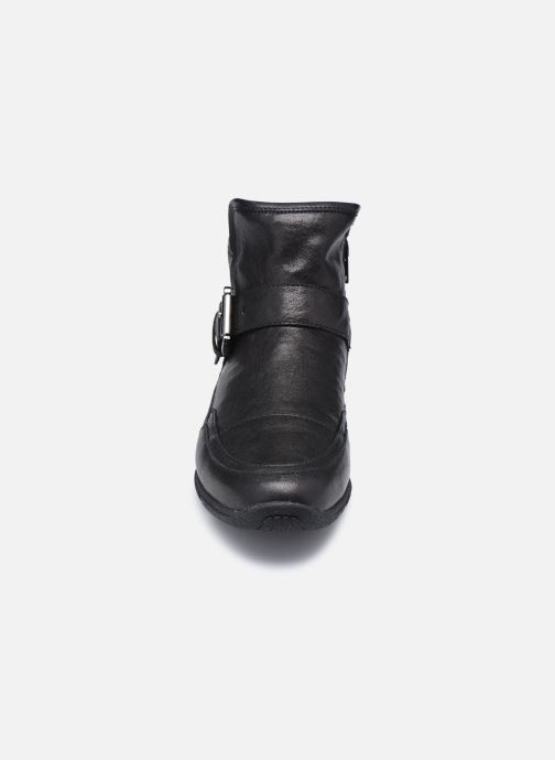 Bottines et boots Geox D AGLAIA Noir vue portées chaussures