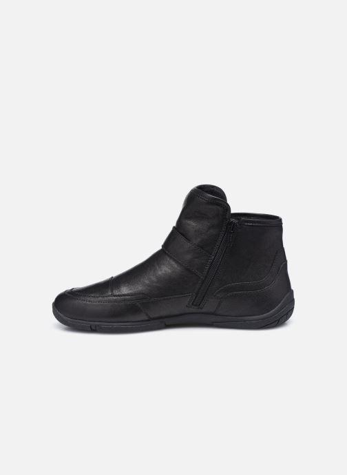 Bottines et boots Geox D AGLAIA Noir vue face