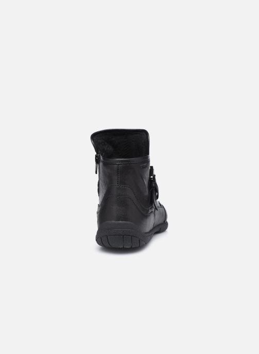 Bottines et boots Geox D AGLAIA Noir vue droite