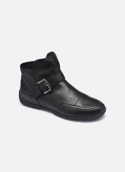 Bottines et boots Geox D AGLAIA Noir vue détail/paire