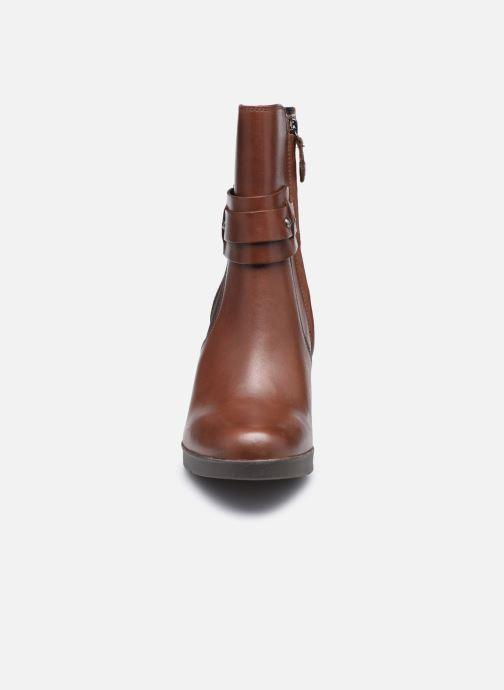Stiefeletten & Boots Geox D ANYLLA HIGH D04LMB braun schuhe getragen