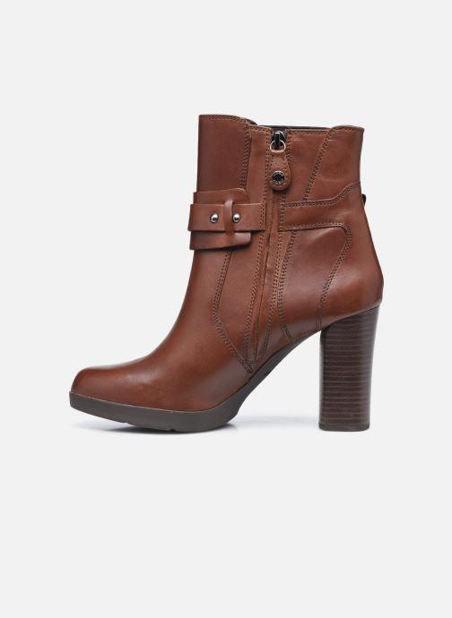 Bottines et boots Geox D ANYLLA HIGH D04LMB Marron vue face