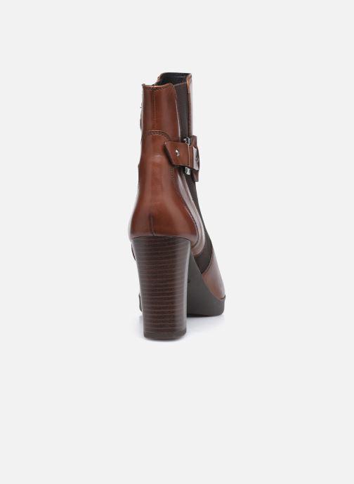 Bottines et boots Geox D ANYLLA HIGH D04LMB Marron vue droite