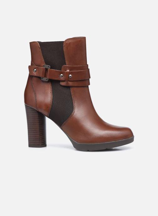 Bottines et boots Geox D ANYLLA HIGH D04LMB Marron vue derrière