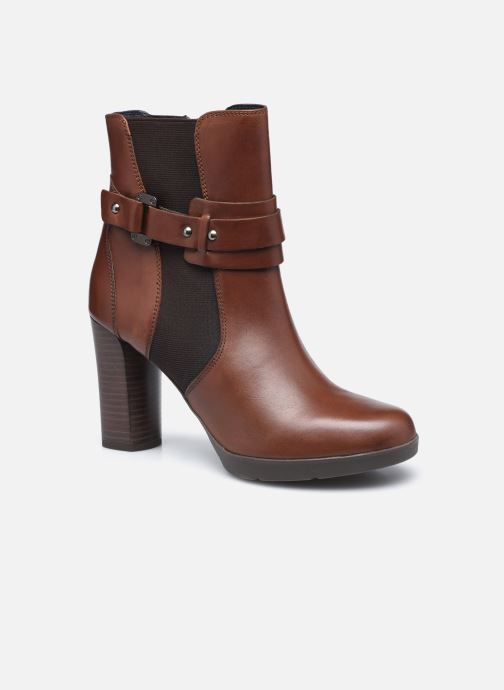 Bottines et boots Geox D ANYLLA HIGH D04LMB Marron vue détail/paire