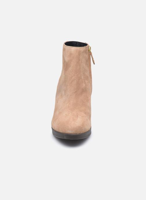 Bottines et boots Geox D ANYLLA HIGH D04LMG Beige vue portées chaussures