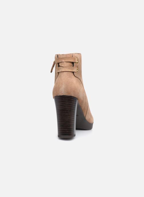 Bottines et boots Geox D ANYLLA HIGH D04LMG Beige vue droite