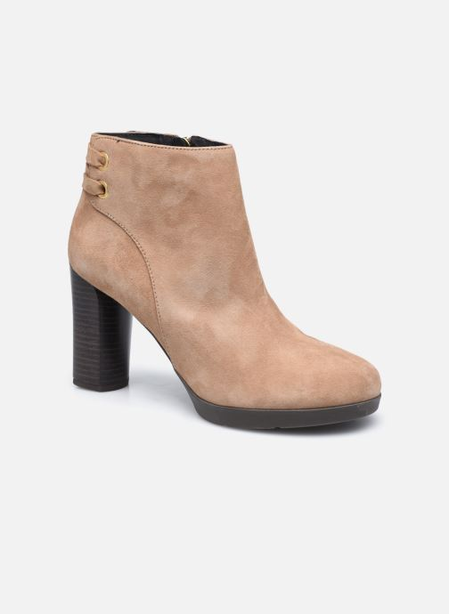 Bottines et boots Geox D ANYLLA HIGH D04LMG Beige vue détail/paire