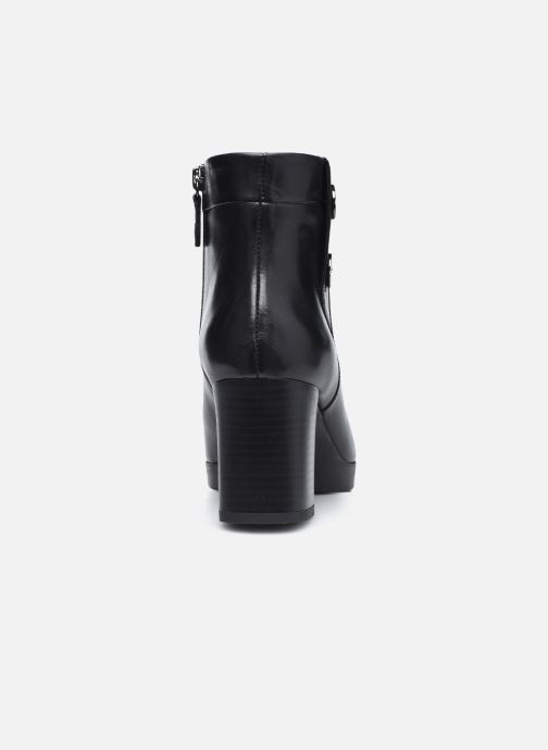 Bottines et boots Geox D ANYLLA MID Noir vue droite
