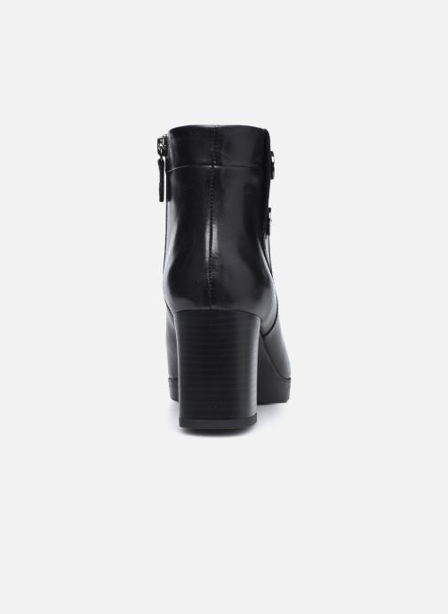 Stiefeletten & Boots Geox D ANYLLA MID schwarz ansicht von rechts