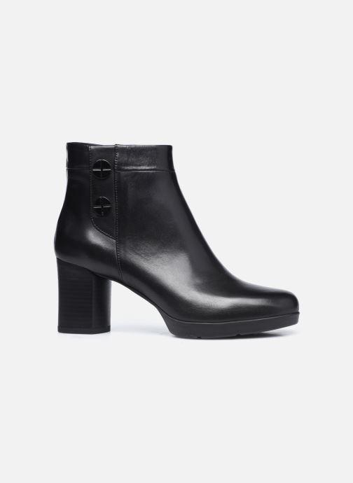 Bottines et boots Geox D ANYLLA MID Noir vue derrière