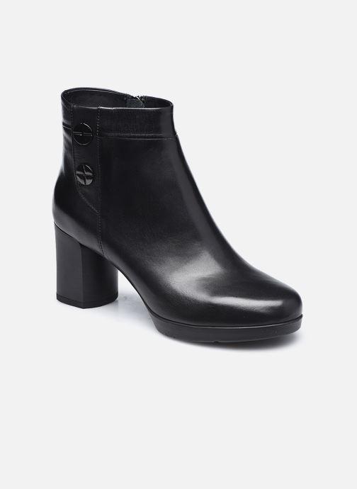 Bottines et boots Geox D ANYLLA MID Noir vue détail/paire