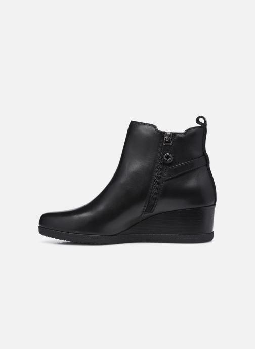 Bottines et boots Geox D ANYLLA WEDGE D04LDC Noir vue face