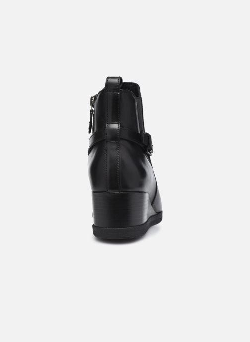 Bottines et boots Geox D ANYLLA WEDGE D04LDC Noir vue droite