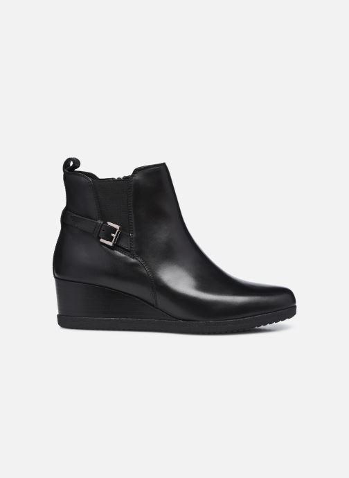 Bottines et boots Geox D ANYLLA WEDGE D04LDC Noir vue derrière