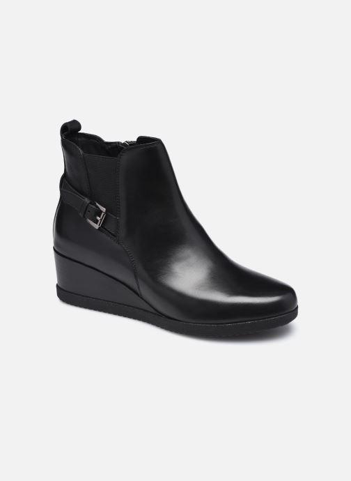 Stiefeletten & Boots Geox D ANYLLA WEDGE D04LDC schwarz detaillierte ansicht/modell