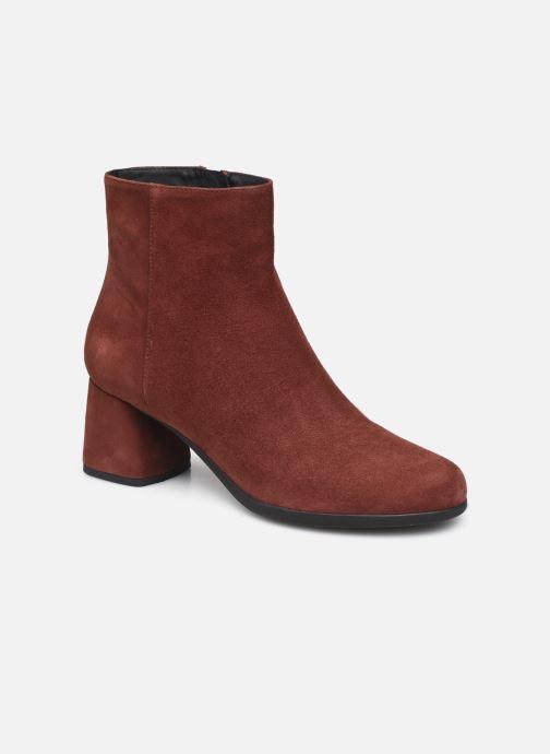 Stiefeletten & Boots Geox D CALINDA MID D04EFA weinrot detaillierte ansicht/modell