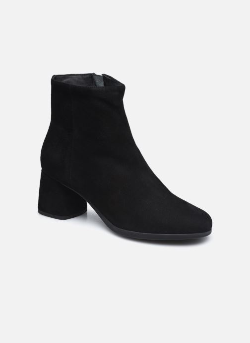 Bottines et boots Geox D CALINDA MID D04EFA Noir vue détail/paire