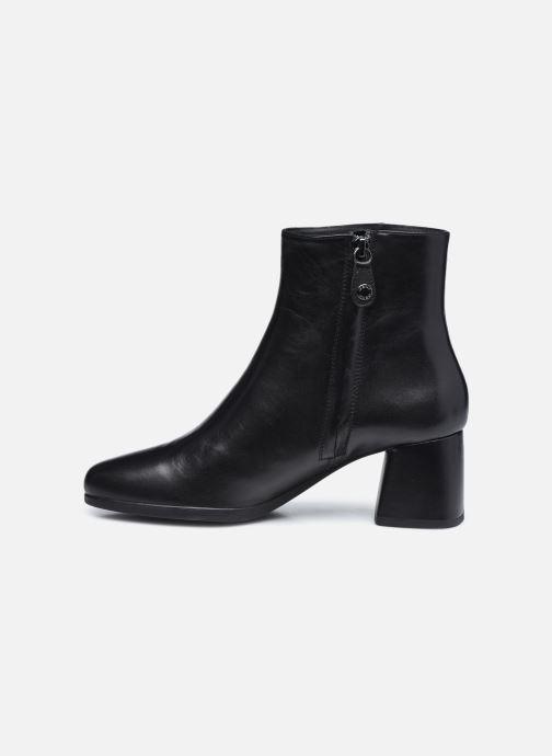Bottines et boots Geox D CALINDA MID D04EFA Noir vue face