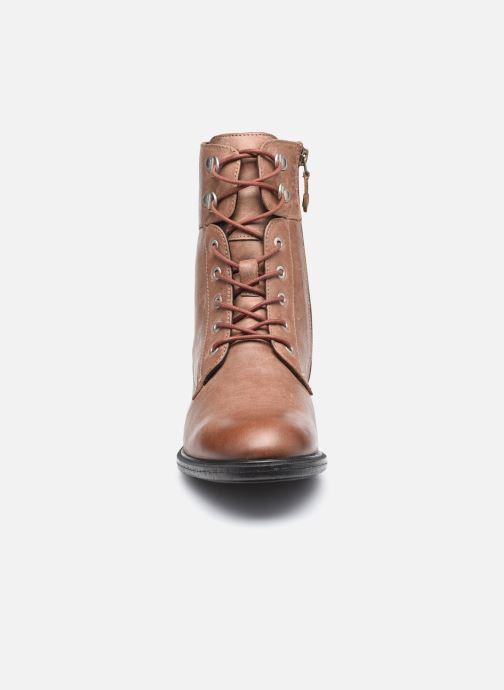 Stiefeletten & Boots Geox D CATRIA D04LQC braun schuhe getragen