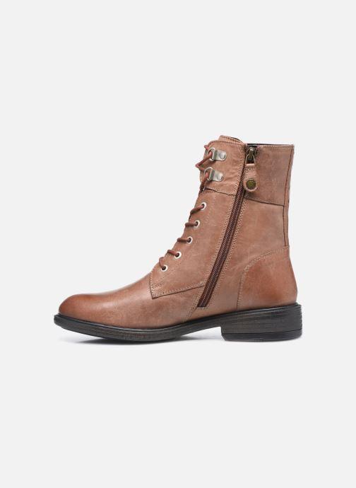 Stiefeletten & Boots Geox D CATRIA D04LQC braun ansicht von vorne