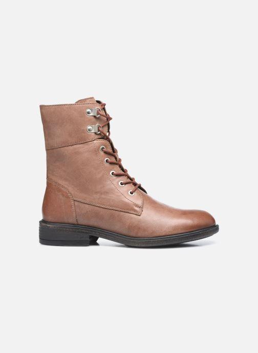 Stiefeletten & Boots Geox D CATRIA D04LQC braun ansicht von hinten