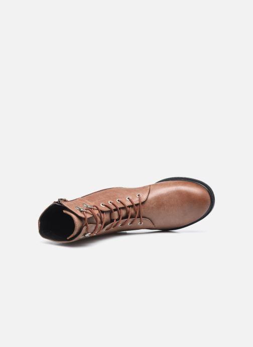 Stiefeletten & Boots Geox D CATRIA D04LQC braun ansicht von links
