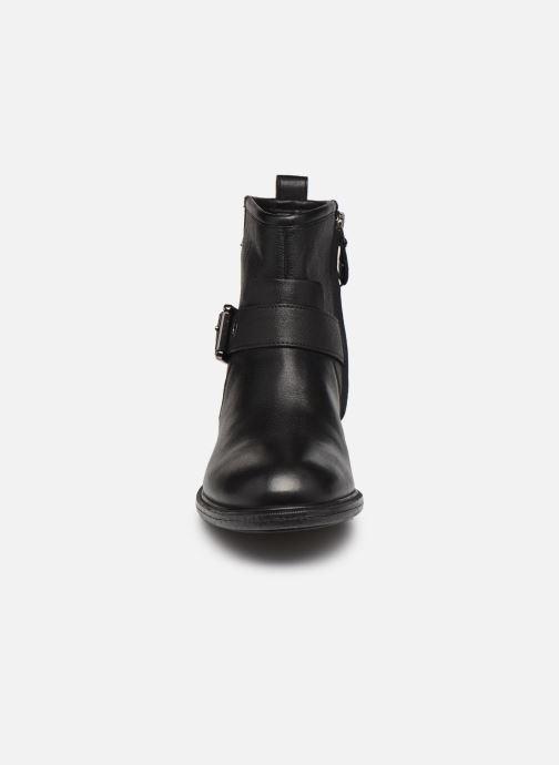 Bottines et boots Geox D CATRIA D04LQE Noir vue portées chaussures
