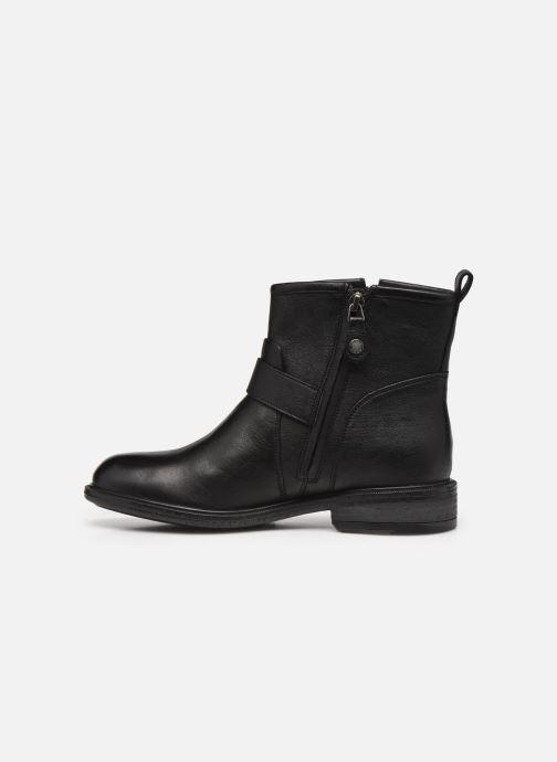 Bottines et boots Geox D CATRIA D04LQE Noir vue face