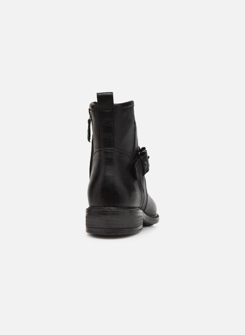 Bottines et boots Geox D CATRIA D04LQE Noir vue droite