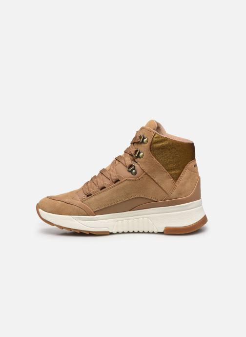Sneakers Geox D FALENA B ABX Marrone immagine frontale