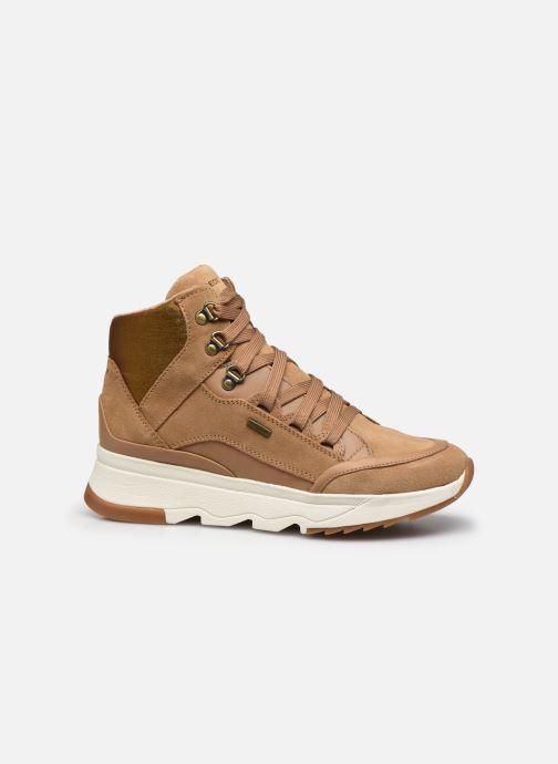 Sneaker Geox D FALENA B ABX braun ansicht von hinten