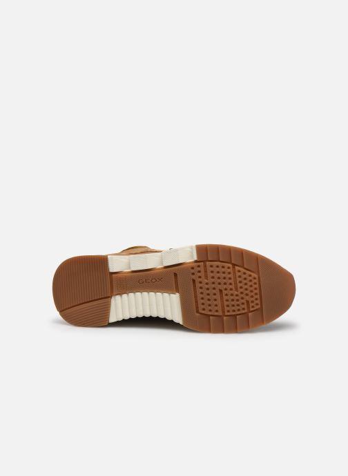 Sneakers Geox D FALENA B ABX Marrone immagine dall'alto