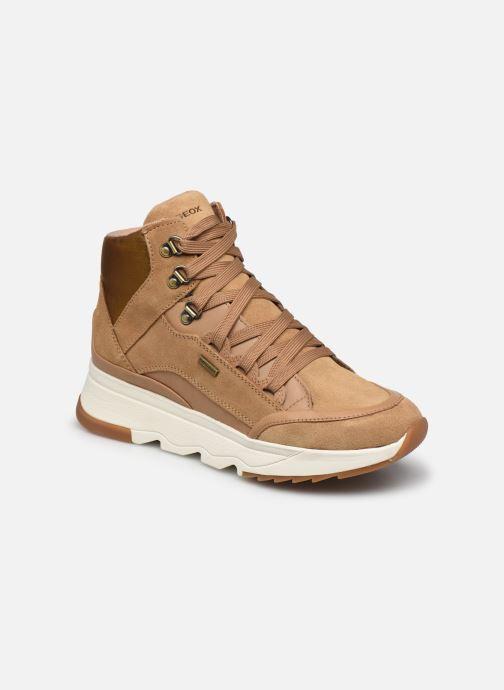 Sneakers Geox D FALENA B ABX Marrone vedi dettaglio/paio
