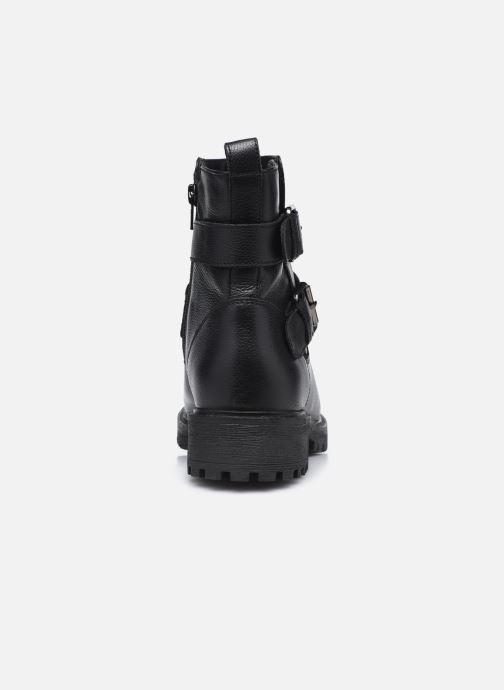 Bottines et boots Geox D HOARA D94FTG Noir vue droite
