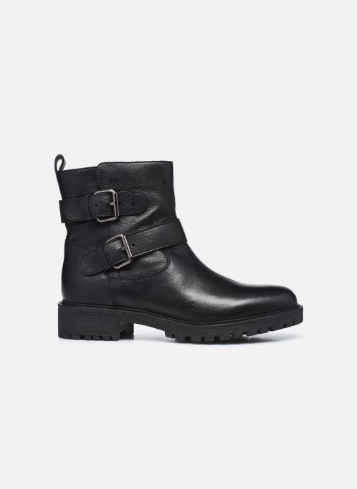 Bottines et boots Geox D HOARA D94FTG Noir vue derrière